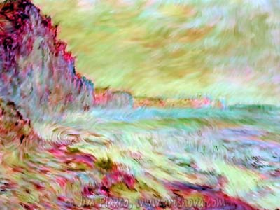 Monet Seaside Rip Off