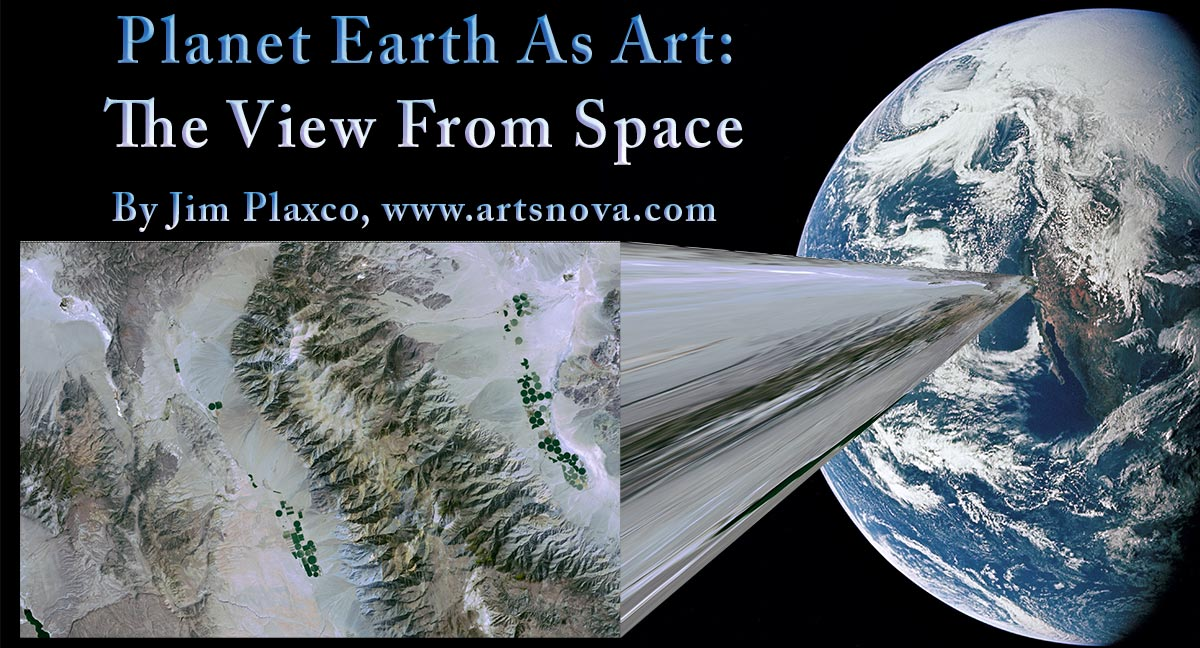 Planet Earth As Art: The View From Space