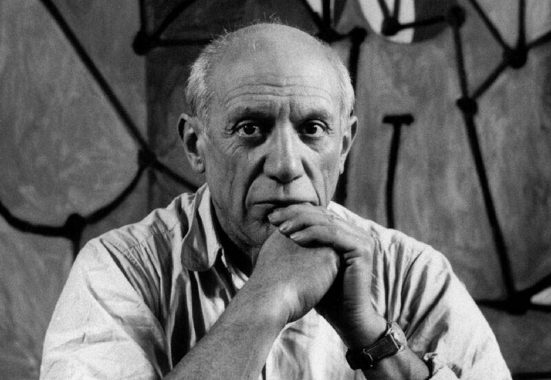 Portrait of the artist Pablo Picasso