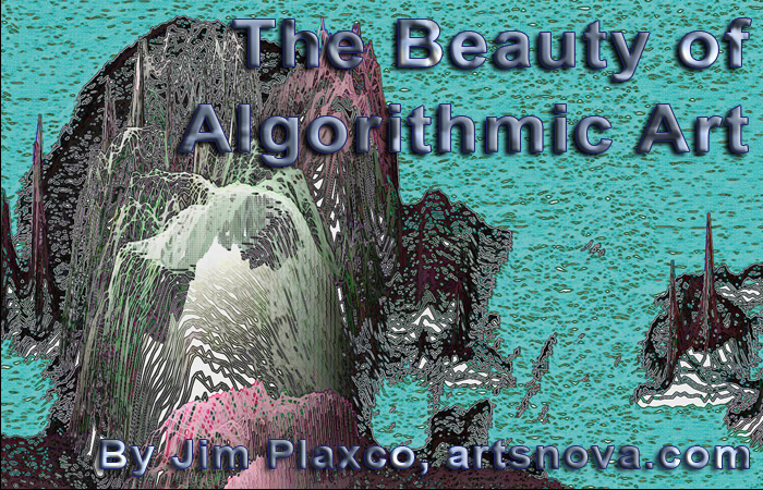 The Beauty of Algorithmic Art Lecture