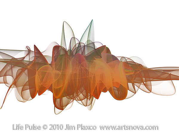 Life Pulse abstract art