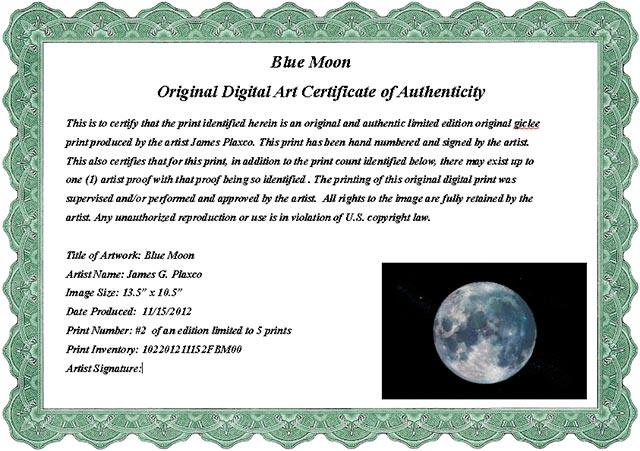 Sample art certificate of authenticity for Free printable certificate of authenticity templates