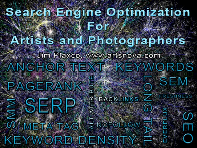 >Search Engine Optimization for Artists and Photographers Class