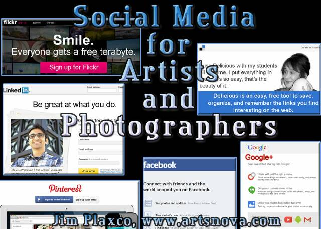 >Social Media for Artists and Photographers Class