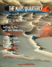 Cover of The Mars Quarterly