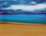 Beach Sky Study I digital art