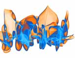 Fire and Water digital art
