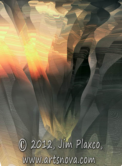 Grand Canyon digital art