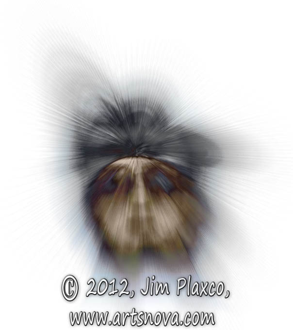 Portrait of John Lennon digital art