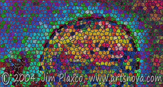 Sunset Mosaic digital art